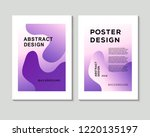 the abstract colorful... | Shutterstock .eps vector #1220135197