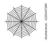 cobweb. spider's web. gossamer. ... | Shutterstock .eps vector #1220147284