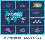 creative business infographic...   Shutterstock .eps vector #1220157121