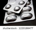 many medicines pills capsules... | Shutterstock . vector #1220188477