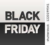 black friday sale banner layout ...   Shutterstock .eps vector #1220199541