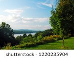 a view of the hudson river and... | Shutterstock . vector #1220235904