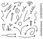 illustration of grunge sketch... | Shutterstock .eps vector #1220260471