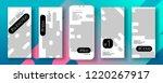 social media stories frame... | Shutterstock .eps vector #1220267917