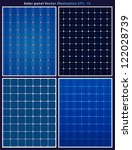 Solar Panels  Vector Collections