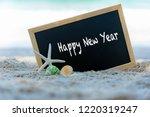 closeup of a chalkboard for...   Shutterstock . vector #1220319247