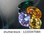 natural sapphire gemstone | Shutterstock . vector #1220347084