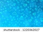 light blue vector background... | Shutterstock .eps vector #1220362027