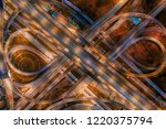 high angle looking top down... | Shutterstock . vector #1220375794