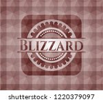 blizzard red seamless badge... | Shutterstock .eps vector #1220379097