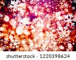 christmas light background.... | Shutterstock . vector #1220398624