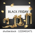 black friday sale design... | Shutterstock .eps vector #1220401471