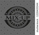 mix up black emblem   Shutterstock .eps vector #1220435344