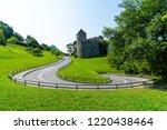 beautiful architecture at vaduz ... | Shutterstock . vector #1220438464