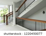 interior view of staircase in...   Shutterstock . vector #1220450077