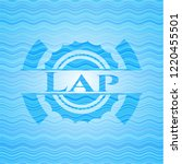 lap water emblem background. | Shutterstock .eps vector #1220455501