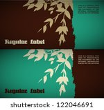 vector retro natural background
