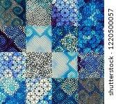 seamless background pattern.... | Shutterstock .eps vector #1220500057
