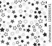 seamless vector eps 10 stars...   Shutterstock .eps vector #1220500141