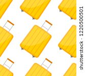 seamless pattern with travel... | Shutterstock .eps vector #1220500501