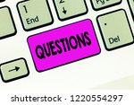 word writing text questions.... | Shutterstock . vector #1220554297