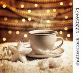 photo of luxury white cup with...
