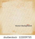 vector paper texture background. | Shutterstock .eps vector #122059735
