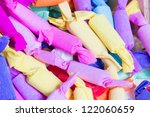 colorful antique candy. | Shutterstock . vector #122060659