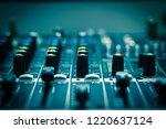 closeup some part of audio...   Shutterstock . vector #1220637124
