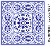 tile pattern  porcelain... | Shutterstock .eps vector #1220678917