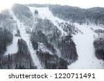 winter in schwarzwald....   Shutterstock . vector #1220711491