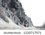 winter in schwarzwald. road in...   Shutterstock . vector #1220717071