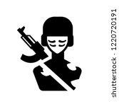 infantry icon. trendy infantry... | Shutterstock .eps vector #1220720191
