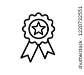 medal icon vector templates | Shutterstock .eps vector #1220732551