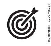 bullseye with target symbol...   Shutterstock .eps vector #1220746294