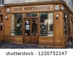 paris  france  october 6  2016  ...   Shutterstock . vector #1220752147