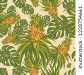 seamless pattern with...   Shutterstock .eps vector #1220754661