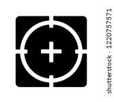 precision icon. trendy... | Shutterstock .eps vector #1220757571