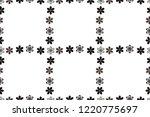 illustration in white  black... | Shutterstock . vector #1220775697