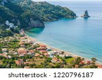 scenic panoramic view of famous ... | Shutterstock . vector #1220796187