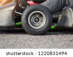 auto karting competition ... | Shutterstock . vector #1220831494