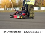 karting competitions  a karting ...   Shutterstock . vector #1220831617
