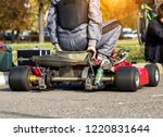 karting competitions  the... | Shutterstock . vector #1220831644