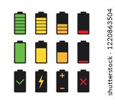 black glyphs digital battery...