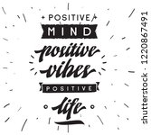 inspirational quote  motivation.... | Shutterstock .eps vector #1220867491