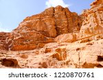 red mountains of the canyon of... | Shutterstock . vector #1220870761