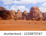red mountains of the canyon of... | Shutterstock . vector #1220870767