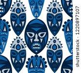 seamless pattern. ethnic... | Shutterstock .eps vector #1220897107