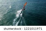 aerial drone bird's eye view... | Shutterstock . vector #1221011971