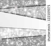 abstract background with silver ... | Shutterstock .eps vector #122105071